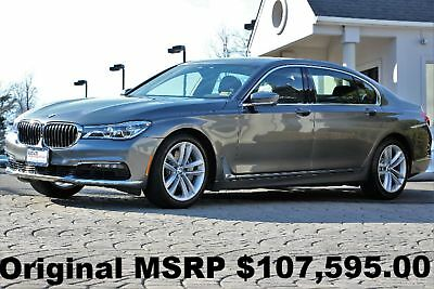 2017 BMW 7-Series 750i xDrive 2017 Active Cruise Control Executive PKG Magellan Gray Metallic Auto AWD Perfect