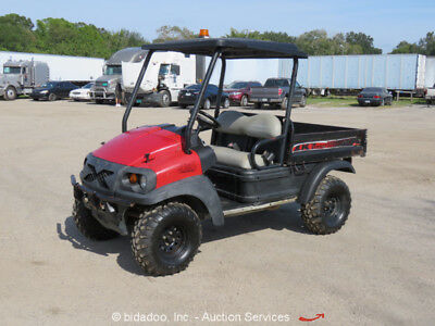 2011 Club Car XRT1550D 4WD Industrial Utility Vehicle Cart UTV Kubota Diesel ATV