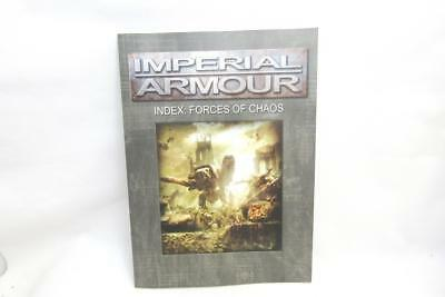 Warhammer 40k Forgeworld Imperial Armour Index Forces Of Chaos Softback (wCX32)