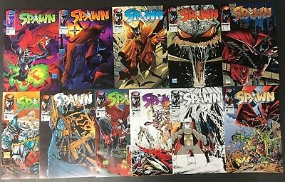 Spawn (1992) 1 2 3 4 5 6 7 8 9-33 VF/NM the 1st 3 years 1st app Angela 33 comics