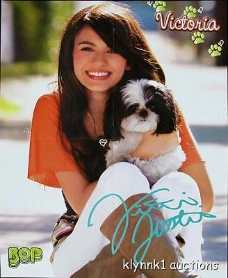 Victoria Justice - 4 POSTERS Centerfolds Lot 2305A Justin Bieber on back