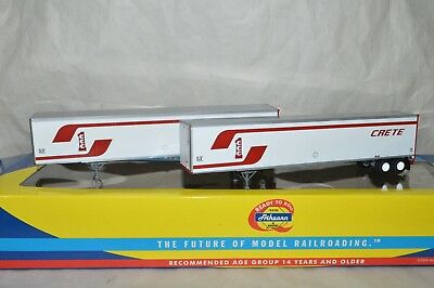 Ho Scale Athearn Crete Carrier Corp 53 Wabash Duraplate