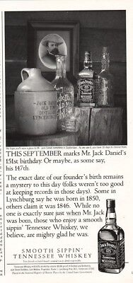 1997 Jack Daniel's Tennessee Whiskey Antique Bottle Jug Collection Photo Ad