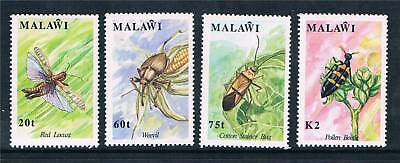 Malawi 1991 Insects SG 868/71 MNH