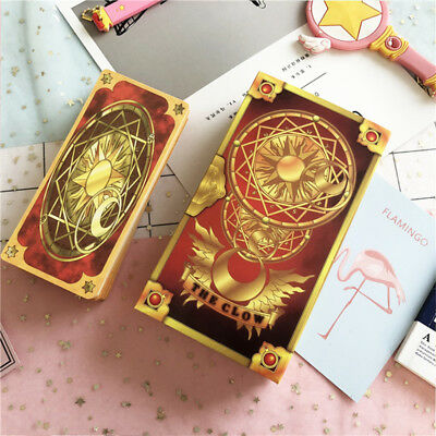Japan Anime 1Set/56Pcs Card Captor Sakura Clow Cards Collections Gift