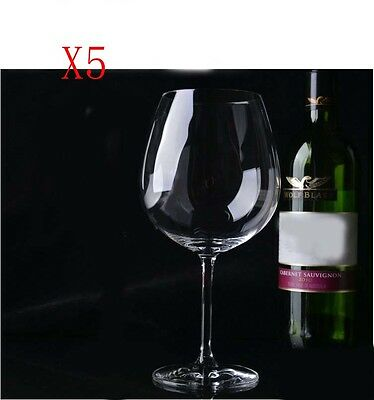 New 5X Capacity 783ML Height 222MM Lead Free Large Red Wine Glass/Glassware %