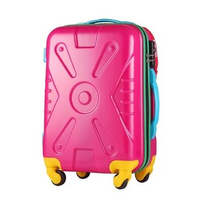 E72 Fashion Practical Travel Universal Wheel Rose Red Suitcase 20 Inches W