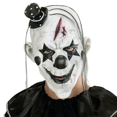 KILLER CLOWN MASKE # Halloween Karneval Horror Grusel Herren Kostüm Party 00848