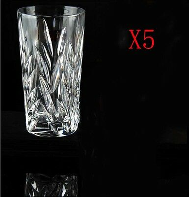 New 5X Capacity 380ML Height 146MM Lead Free Whisky Wine Glass/Glassware %
