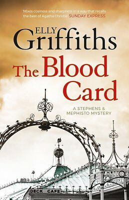 Elly Griffiths __ The Blood Card ___ Brand New __ Freepost Uk