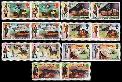 Barbuda 1974 - Mi-Nr. 157-170 ** - MNH - Transport - UPU