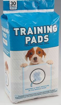 30 x 60x60cm LARGE No Mess Puppy Training Pads Potty Dog Indoor Odour Free Dry