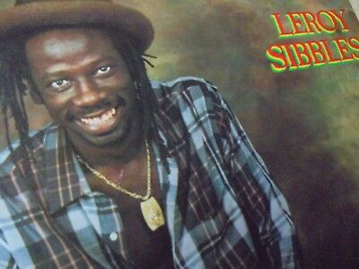 LP LEROY SIBBLES (from HEPTONES) - ON TOP / 1983 canada-MICRON original-press