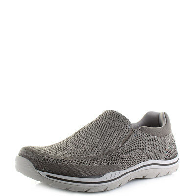 d461b698945 MENS SKECHERS EXPECTED Gomel Taupe Lightweight Slip On Shoes Sz Size ...