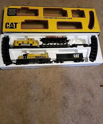 Toy State #55650 Caterpillar CAT Construction Express Train Set Missing tractors