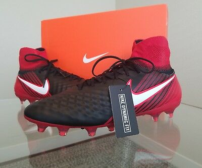 3f89f06ce1fd Nike Magista Orden II FG Soccer Cleats ‑ Black University Red Men s Size
