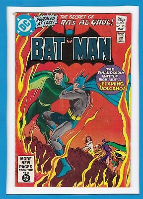 "Batman #335_May 1981_Fine+_""the Secret Of Ra's Al Ghul""_Bronze Age Dc_Uk!"