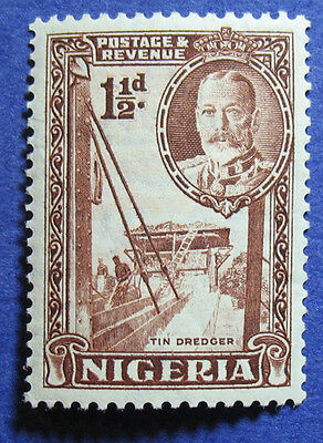 1936 NIGERIA 1 1/2d SCOTT# 40a S.G.# 36a UNUSED                          CS08497