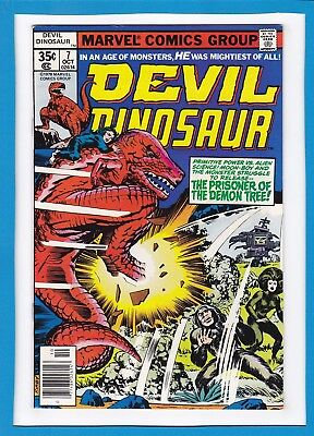 Devil Dinosaur #7_October 1978_Near Mint Minus_Moon-Boy_Bronze Age_Jack Kirby!