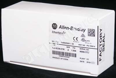New Sealed Allen Bradley 193-ECM-ETR Series A 2015 E300 2-P ENet Communication
