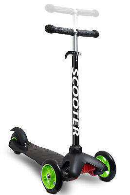 Den Haven Scooter for Kids - Deluxe 3 Wheel Glider with Kick n Go Lean 2 Turn