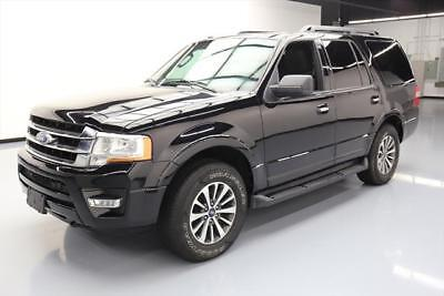 2016 Ford Expedition  2016 FORD EXPEDITION XLT 4X4 ECOBOOST 8PASS REARCAM 48K #F53117 Texas Direct