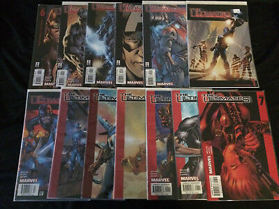 THE ULTIMATES #1, 2, 3, 4, 5, 6, 7, 8, 9, 10, 11, 12, 13 VFNM Condition