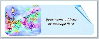 800 butterfly personalized return address labels stickers 8 75