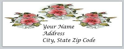 30 Personalized Return Address Labels Hummingbirds Buy 3 get 1 free hb7