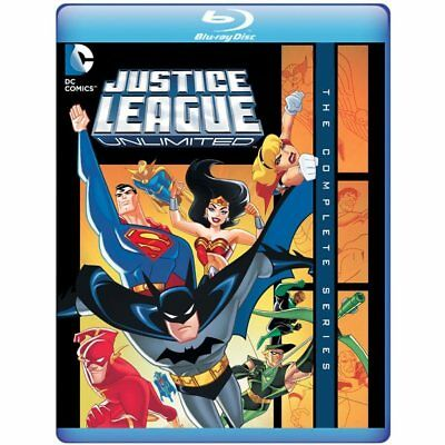 Justice League Unlimited The Complete Series Blu-ray Region B (3 Discs)