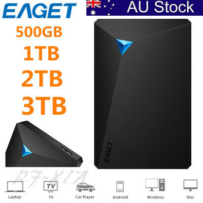 "AU STOCK ! 3 TB 2.5"" USB 3.0 Portable External Digital Hard Drive HDD High Speed"