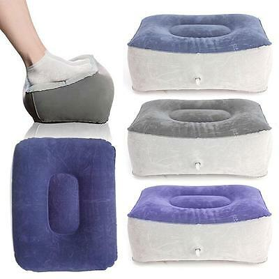 Inflatable Travel Foot Pillow Air Cushion Hiking Camping Rest Pillow BA#01