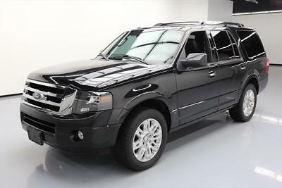 2012 Ford Expedition Limited Sport Utility 4-Door 2012 FORD EXPEDITION LIMITED 8PASS SUNROOF REAR CAM 44K #F21226 Texas Direct