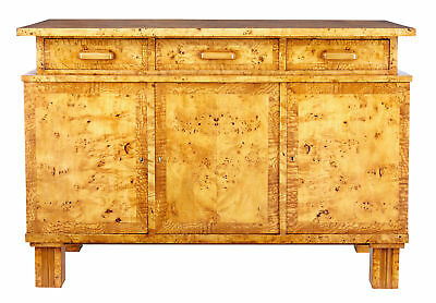 Early 20Th Century Swedish Birch Root Buffet Sideboard