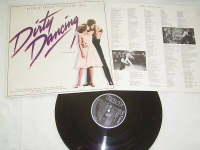 LP - Dirty Dancing Soundtrack - 1987 OIS # cleand