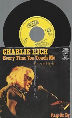 "7""  Charlie Rich ‎– Every Time You Touch Me"