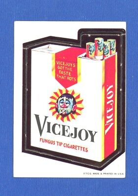 1967 Topps Original   Wacky Packages Die Cut Series # 3 Vicejoy Cigarettes