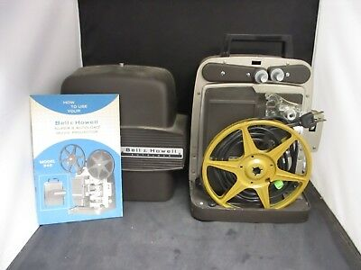Vintage Bell & Howell Autoload 346A Super 8 Projector 8mm