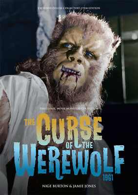 The Curse of the Werewolf Large Softcover Book HAMMER Movie Monsters Collection!