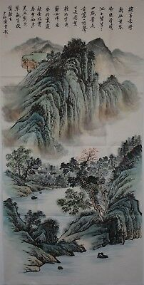 Superb Large Chinese Painting Signed Master Chen Shaomei No Reserve A8402