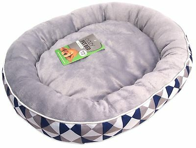 """17"""" x 22"""" Premium Padded Non Slip Base Dog Pet Bed Comfy Cushion Pillow Puppy"""