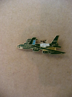 Kw- Aircraft Us Air Force (10014 On Tail)(Green & Blue & White  Pin  #15859