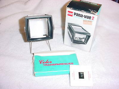 Bc- Vintage Gaf Pana-Vue 2 Lighted 2 X 2 Slide Viewer