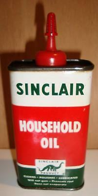 Vintage Sinclair Household Oil Handy Oiler Can NEAR MINT