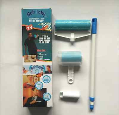 Schticky 3 Piece Set Reusable Washable Lint Roller All-purpose Cleaner Lint
