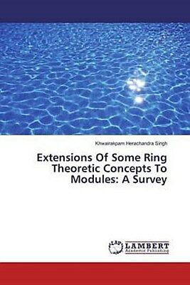 Extensions Of Some Ring Theoretic Concepts To Modules: A Survey Khwairakpam ...