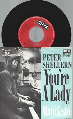 """7""""  Peter Skellern – You're A Lady"""