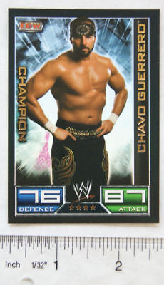 2008 Chavo Guerrero, Topps Slam Attax ECW champion card