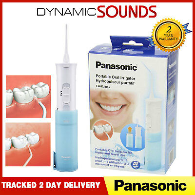 Panasonic Portable Dental 2 Speed Water Jet Flow Flosser Oral Irrigator - EWDJ10