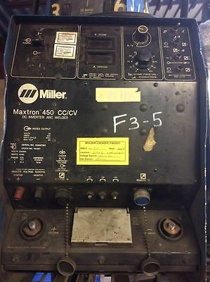 Used Miller Maxtron 450 Power Source Only